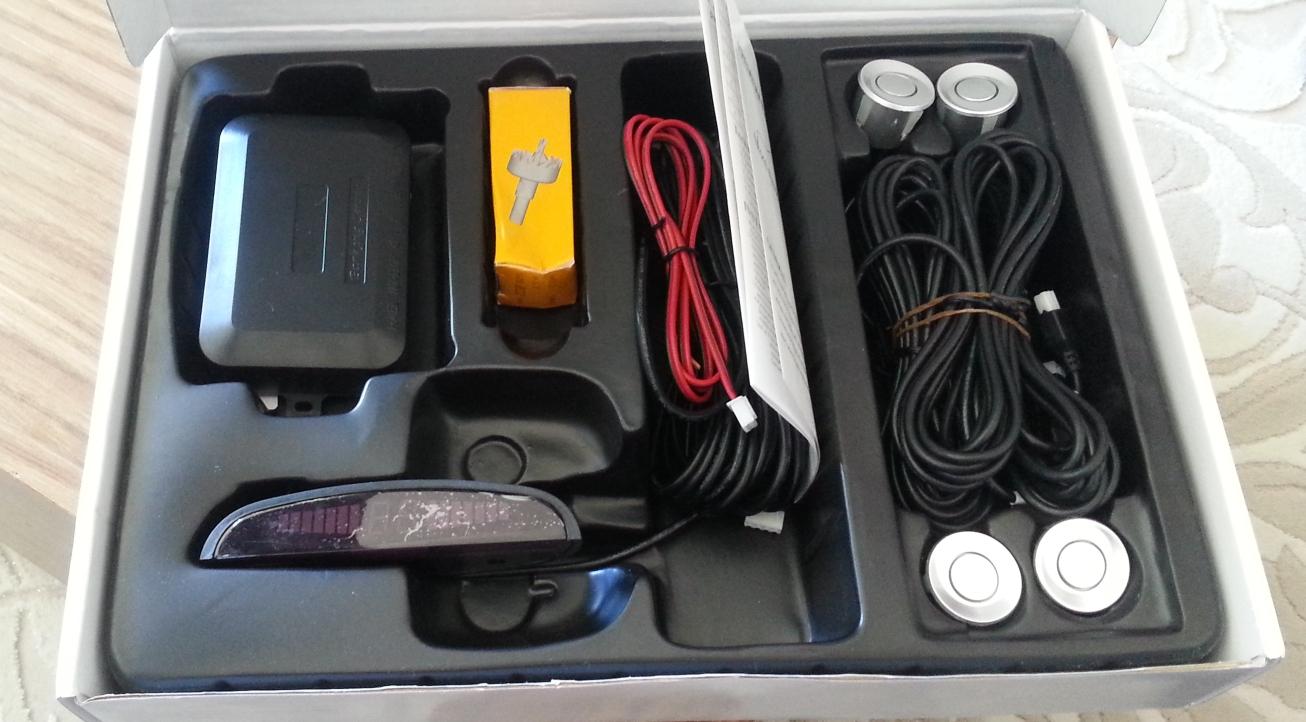 Park Sensörü Kutu İçeriği
